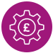 Cost optimisation icon
