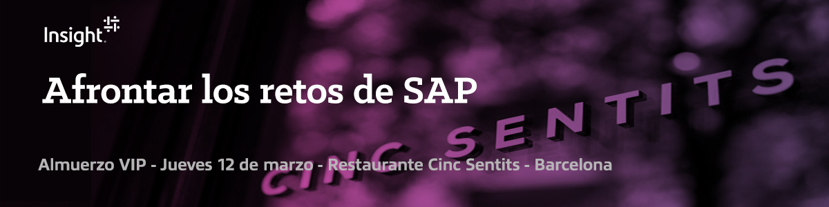 VIP Lunch: Superar los retos de SAP
